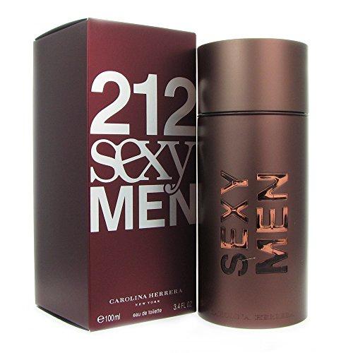 Carolina Herrera 212 Sexy Eau De Toilette Spray for Men, 3.4 ()