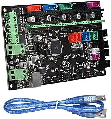 Tarjeta madre impresora 3D tarjeta de control V1.4 Rampe Makerbase ...