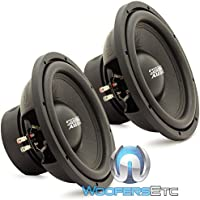E-12 V.3 D2 PAIR - Sundown Audio 12 500W RMS Dual 2-Ohm EV.3 Series Subwoofers