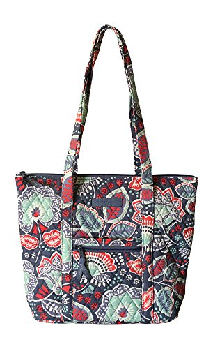 - Vera Bradley Villager with Solid Interiors (Nomadic Floral with Grey Interior)