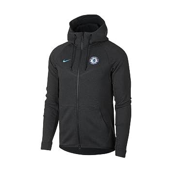 multiple colors cozy fresh good service Nike Herren Chelsea FC Fußball Tech Fleece Windrunner Jacke ...