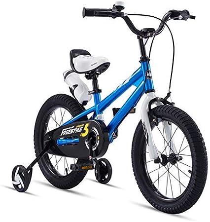WMZXC Bicicletas para Niños Freestyle para Niños Y Niñas Bicicletas Tamaño De Bicicleta 12
