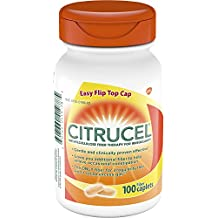 Citrucel Caplets Fiber Therapy for Occasional Constipation Relief, 100 count
