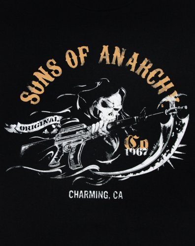 Sons Of Anarchy 1967 T Shirt (Schwarz) - Small
