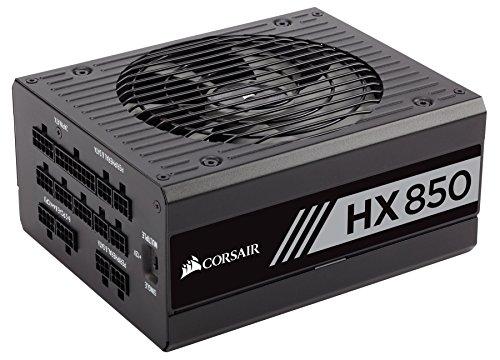 CORSAIR HX Series, HX850, 850 Watt, 80+ Platinum Certified, Fully Modular Power Supply (Renewed)