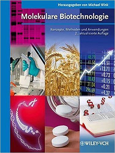Book Molekulare Biotechnologie: Konzepte und Methoden