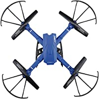 RC Drone Remote Control Airplanes FPV VR Wifi Quadcopter 2.4GHz 6-Axis Gyro 4CH Helicopter with Altitude Hold 2MP HD Camera Time Transmission RTF