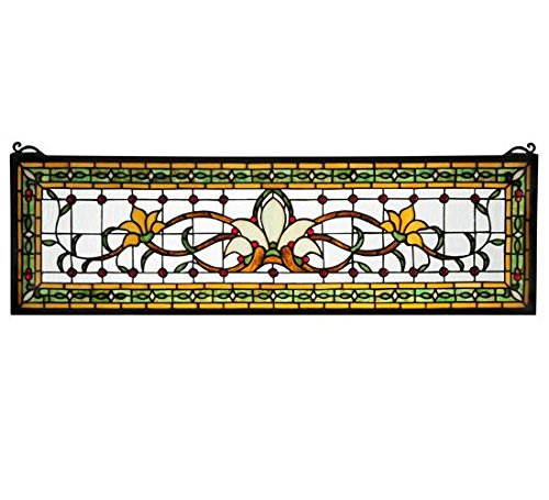 Meyda Tiffany 119444 Fairytale Transom Stained Glass Wind...