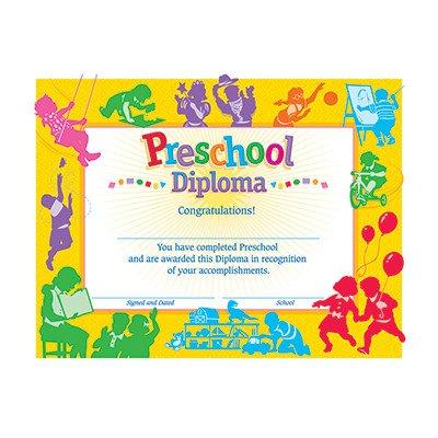 Classic Diploma Preschool Award [Set of 2]