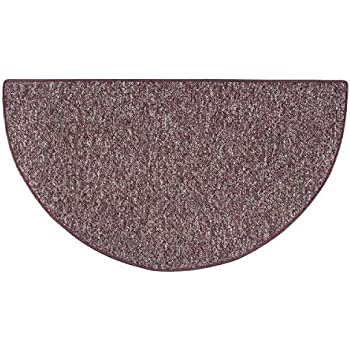 Celebration 4u0027 Half Round Fireplace Hearth Rug