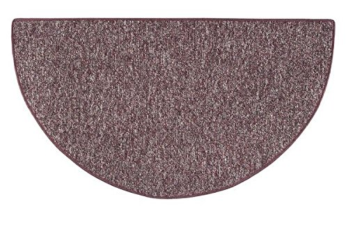 Celebration 4' Half Round Fireplace Hearth Rug (Berber Rug Hearth)