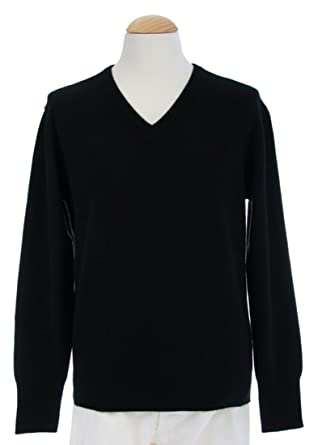 Shephe 4 Ply Men's V Neck Cashmere Sweater at Amazon Men's ...