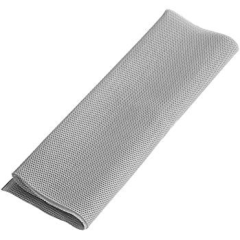 """20/"""" x 55/"""" Black Speaker Grill Cloth Fabric Speaker Fabric Radio Audio Cover"""