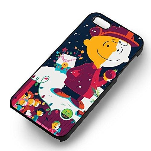 Chic In Snow pour Coque Iphone 7 Case (Noir Boîtier en plastique dur) N4A5DX