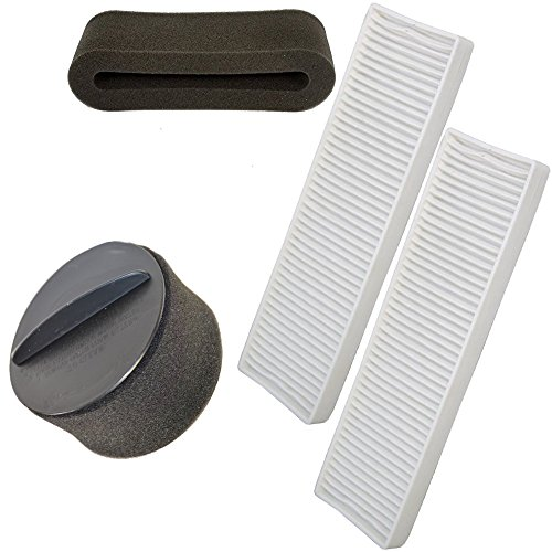 HQRP Filter Kit for Bissell CleanView Helix Deluxe Vacuum...