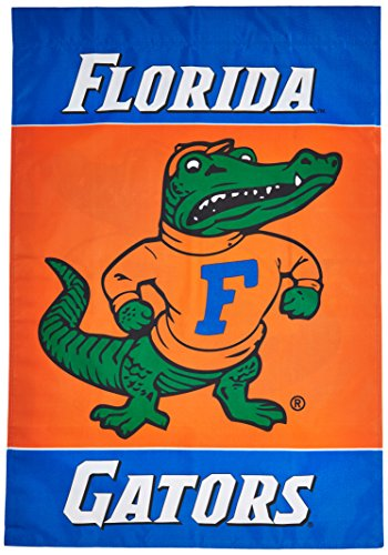 - NCAA Florida Gators 2-Sided 28-by-40 inch House Banner Albert Logo with Pole Sleeve