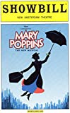 img - for Mary Poppins Playbill (Showbill) for the Original Broadway Production - New Amsterdam Theatre - March 2008 book / textbook / text book