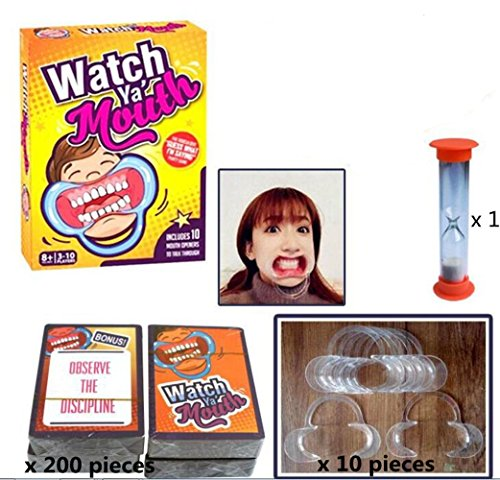 Watch Ya' Mouth Original Mouthpiece Game - The Hilarious Family and Party Game -