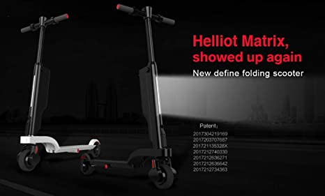 Helliot Design Matrix HD Patinete eléctrico Plegable ...