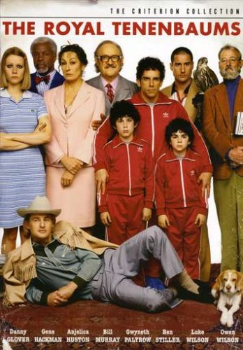 Royal Tenenbaums Criterion Collection product image