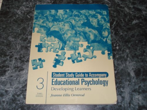 Education Psychology: Developing Learners