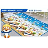 Parklon Wellbeing Plus Soft Playmat-Pororo WINTER Large size (185x140x1.6) by Parklon
