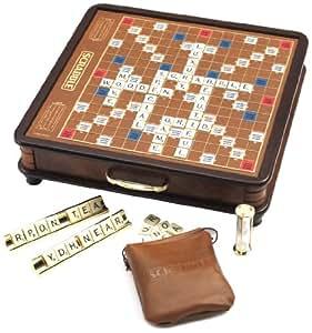 Scrabble luxury edition juego de mesa lesuire trends for Precio juego scrabble mesa