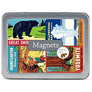 Cavallini Papers & Co., Inc. National Parks Magnet Set