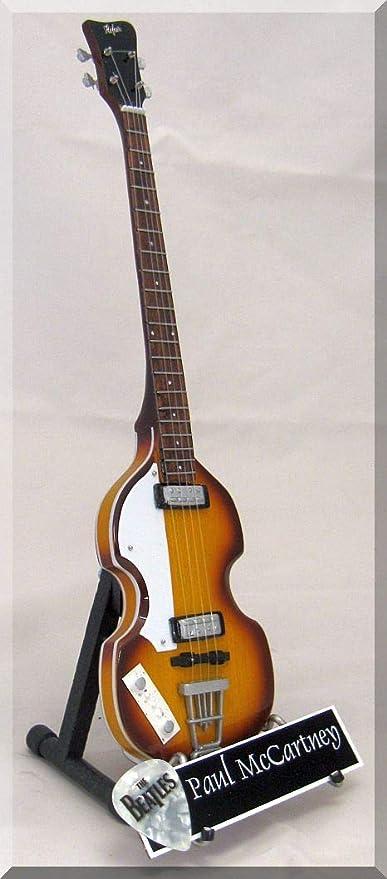 Paul McCARTNEY - Púas de bajo en miniatura con púa para guitarra ...