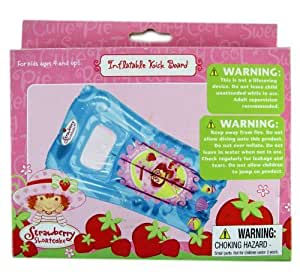 Inflatable Kick Board Strawberry Shortcake Toys Games