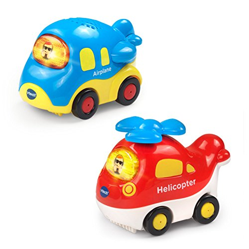 VTech Go! Go! Smart Wheels - Aircrafts 2-pack (Go Helicopter)