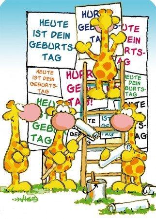 Lustige Geburtstagskarte Heute: Amazon.de: Bürobedarf & Schreibwaren