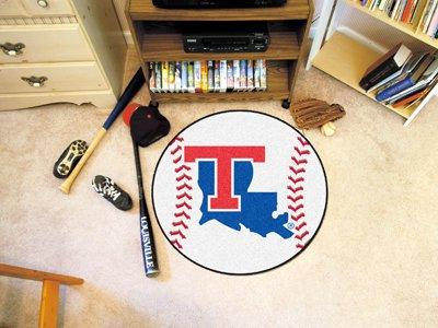 Fan Mats Louisiana Tech Baseball Rug, 29