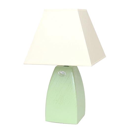 Dekohelden24 Lámpara de Mesa Tulip, L/B/H Aprox. 25 x 25 x 45 cm ...