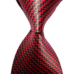 KissTies Necktie Striped Extra Long Tie in Foldable Magnetic Gift Box (63'' XL)
