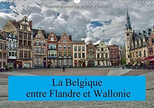 La Belgique, entre Flandre et Wallonie 2018: Un petit voyage a travers la Belgique, entre Flandre et Wallonie (Calvendo Places) (French Edition) PDF