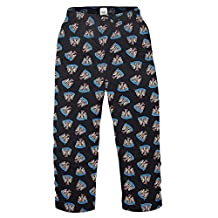 Newcastle United FC Official Soccer Gift Mens Lounge Pants Pajama Bottoms Lge.