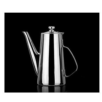 GUYUEXUAN Termo, Caldera fría de Acero Inoxidable - Tetera de café ...