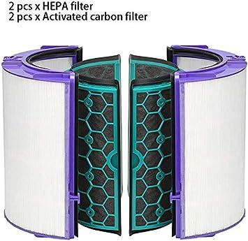Recambio Filtro Hepa & Carbón Activado Filtro para Dyson TP04 TP05 ...