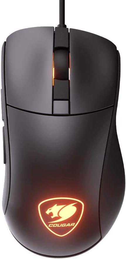 Cougar Surpassion ST - Ratón (Mano Derecha, Óptico, USB, 3200 dpi, Negro): Amazon.es: Informática