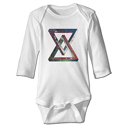 Funny Vintage Unisex Outer Space Triangle Romper Baby Boy And Girl (Outer Space Hamper compare prices)