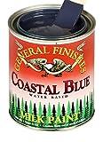 General Finishes QCB Milk Paint, 1 quart, Coastal Blue