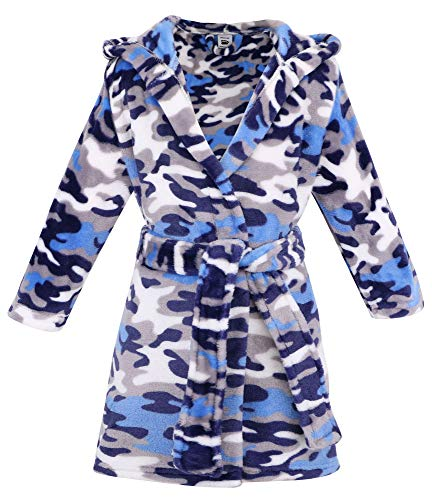 Arctic Paw Kids Boys Girls Children Animal Theme Pool Cover up,Camo,M]()