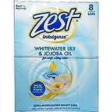 Zest Family Deodorant Bars, Whitewater Fresh 4 oz - 8 Bars (Pack of 5)