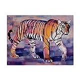 Trademark Fine Art Tigress, Khana, India by Mark Adlington, 35x47-Inch