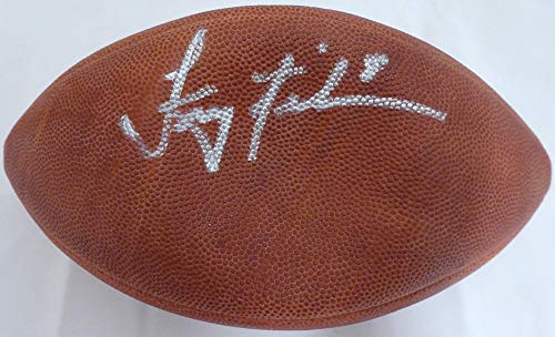 Troy Aikman Autographed Signed Official Super Bowl XXVII Leather NFL Football Dallas Cowboys - PSA/DNA Authentic