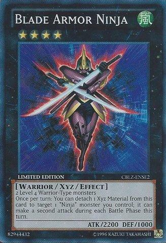 yugioh blade armor ninja - 1