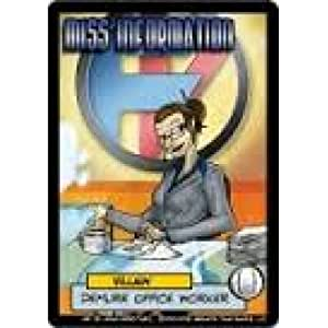 Sentinels of the Multiverse - Miss InformationVillain Character Pack