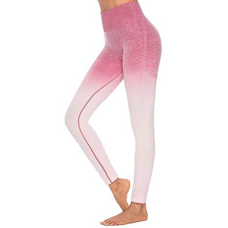 Felicove Damen Sport Leggings, Drucken Leggings Damen Fitness-Sporthose Gym Yoga Athletische Hosen Winterleggings Thermoleggi