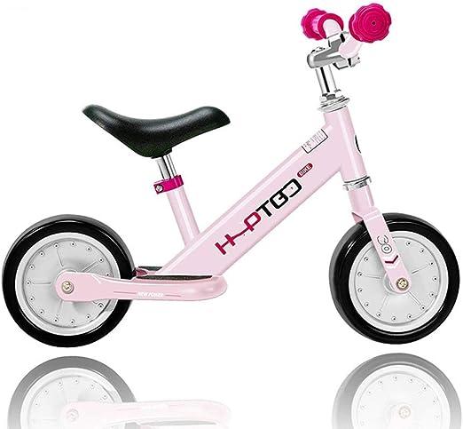 WYX Niños Equilibrio Bicicletas 7 Pulgadas, luz sin Pedal Andar ...